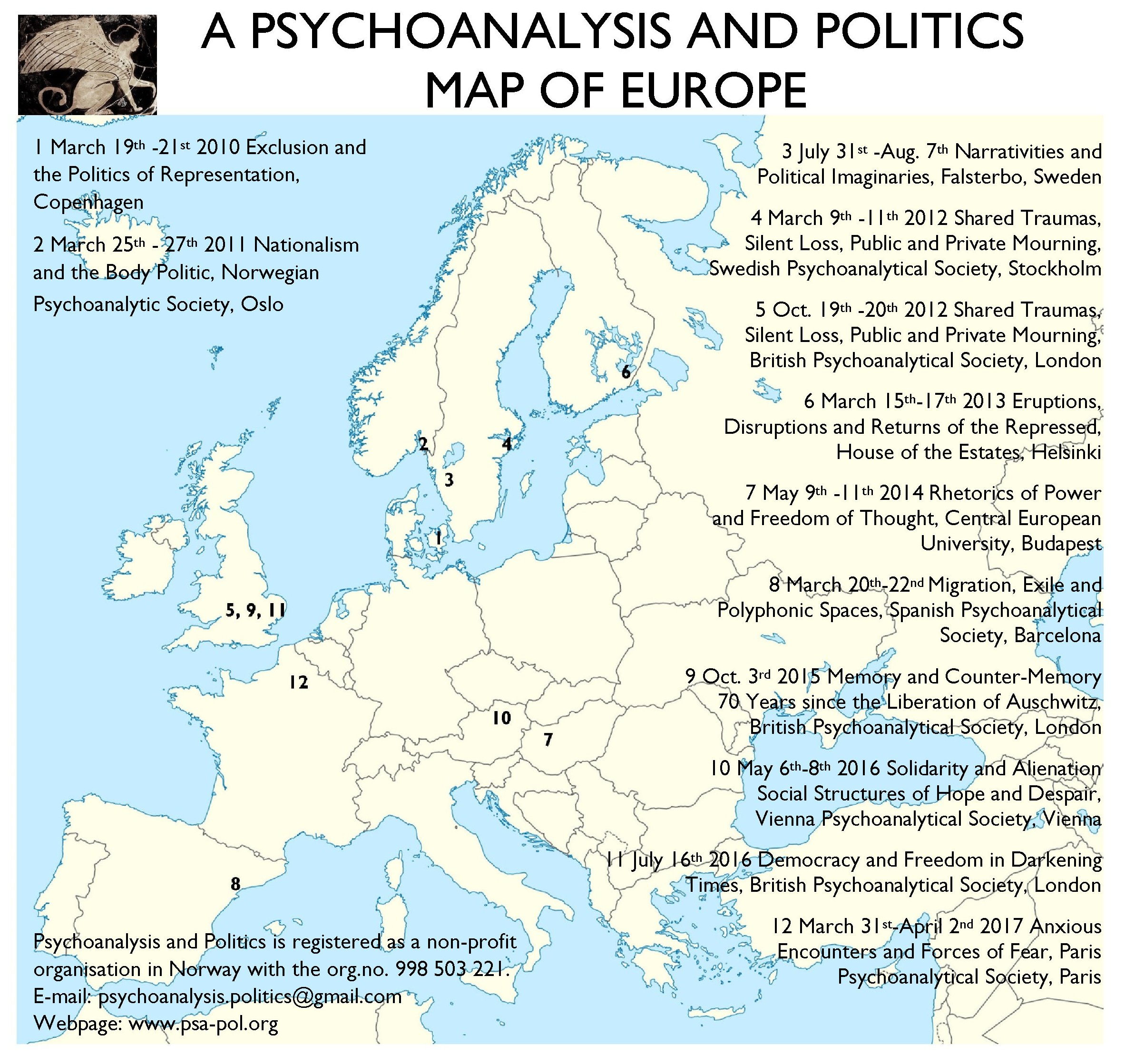 A PSYCHOANALYSIS AND POLITICS